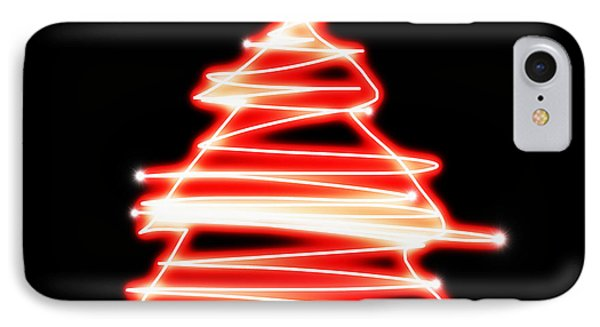 Christmas Tree Lighting IPhone Case by Setsiri Silapasuwanchai