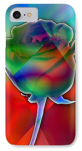 Chromatic Rose Phone Case by Anthony Caruso