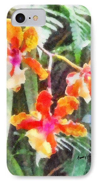 Chromaticorchids Phone Case by Anthony Caruso