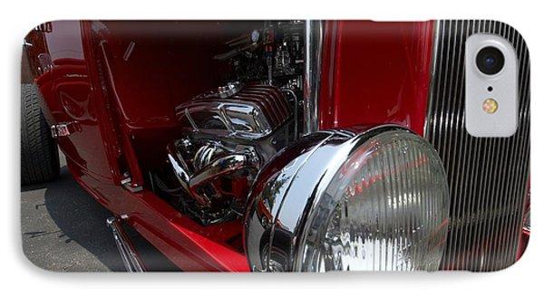 Chrome Engine Vintage Car IPhone Case