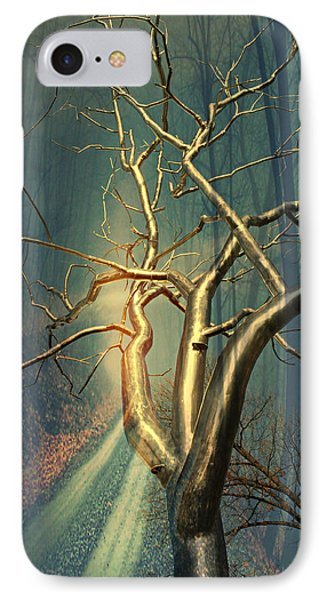 Chrome Forest Phone Case by Marty Koch