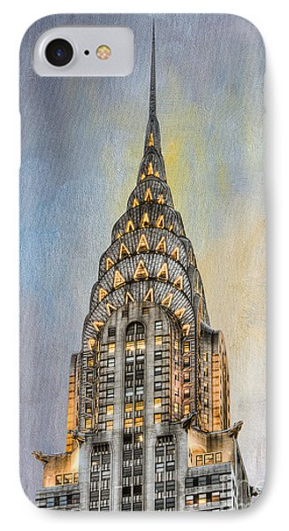 Chrysler Building I Phone Case by Clarence Holmes