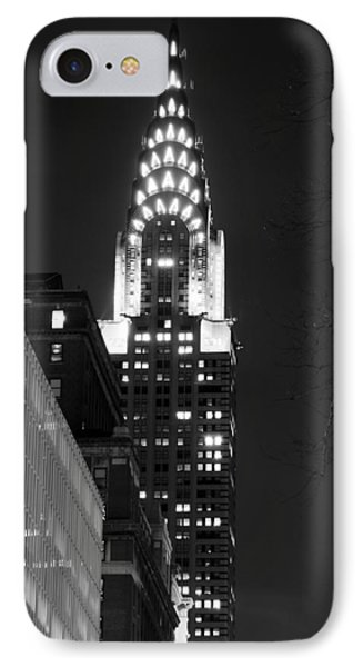 IPhone Case featuring the photograph Chrysler Building by Michael Dorn