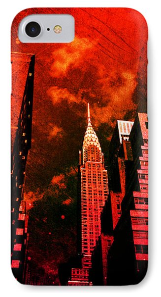 Chrysler Building - New York City Surreal Phone Case by Vivienne Gucwa