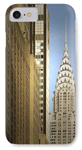 Chrysler Building Nyc - Streamlined Majesty Phone Case by Christine Till