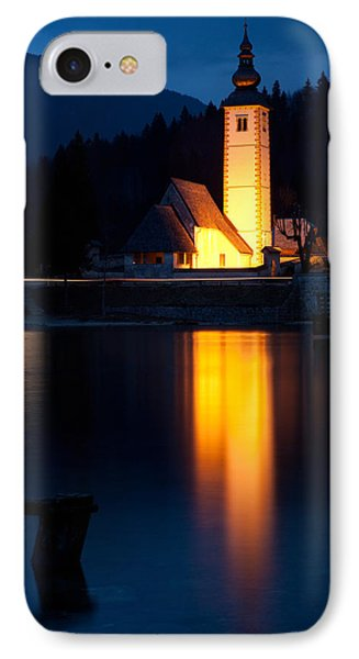 Church At Dusk IPhone Case