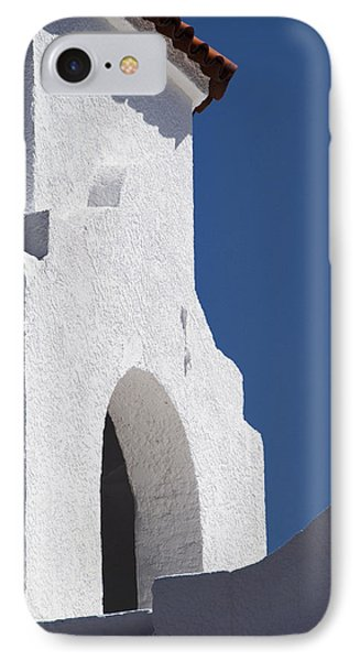 Church Bell Tower Chacras De Coria Phone Case by Philippe Widling