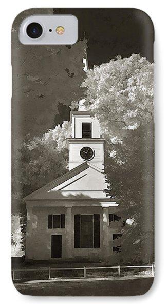 Church In Infrared Phone Case by Joann Vitali