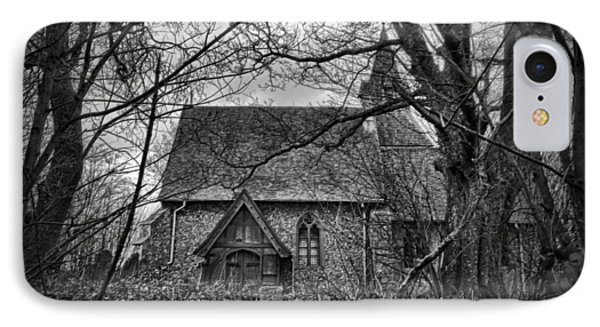 Church In The Woods Phone Case by Dave Godden
