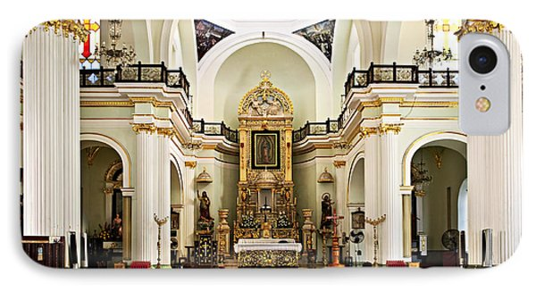 Church Interior In Puerto Vallarta Phone Case by Elena Elisseeva