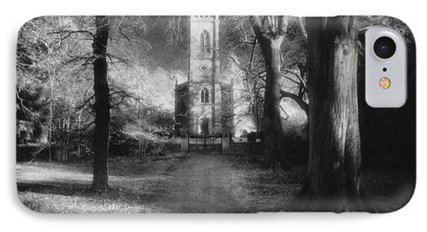 Church Of St Mary Magdalene Phone Case by Simon Marsden