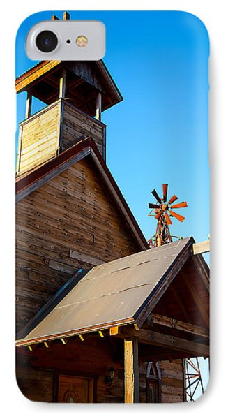 Church On The Mount - Goldfield Ghost Town Phone Case by Jephyr Art