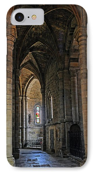 IPhone Case featuring the photograph Church Passageway Provence France by Dave Mills
