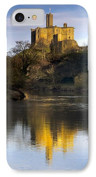 Church Reflection In Water, Warkworth Phone Case by John Short