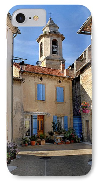 IPhone Case featuring the photograph Church Steeple In Provence by Dave Mills