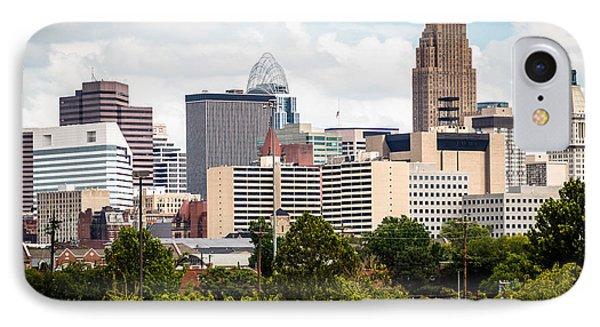 Cincinnati Skyline Downtown City Buildings IPhone Case
