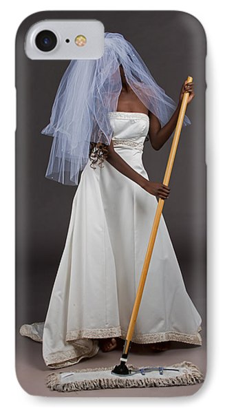 Cinderella Bride IPhone Case by Jim Boardman