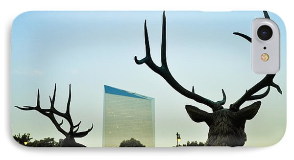 Cira Center From Eakins Oval Phone Case by Bill Cannon