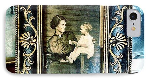 Circa 1900s Portrait IPhone Case by Natasha Marco