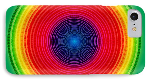 Circle X-ray IPhone Case