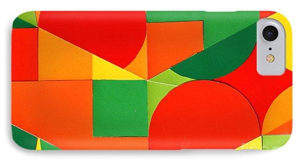 Circles Colorized IPhone Case by Vonda Lawson-Rosa