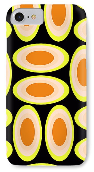 Circles IPhone Case by Louisa Knight