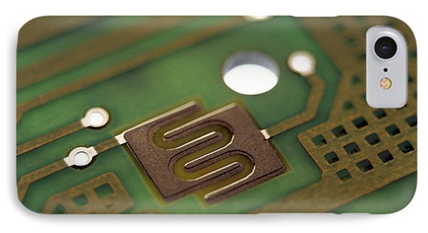 Circuit Board Phone Case by Lawrence Lawry