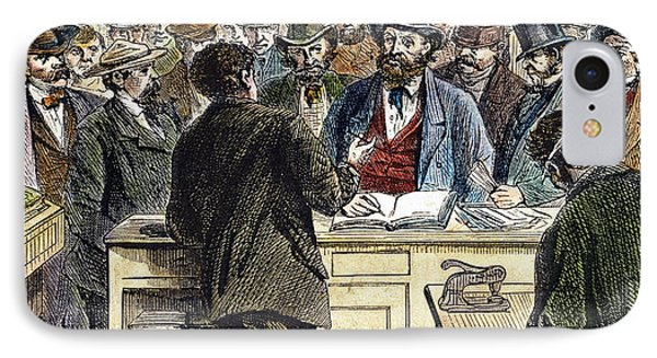 Citizenship, Nyc, 1868 Phone Case by Granger