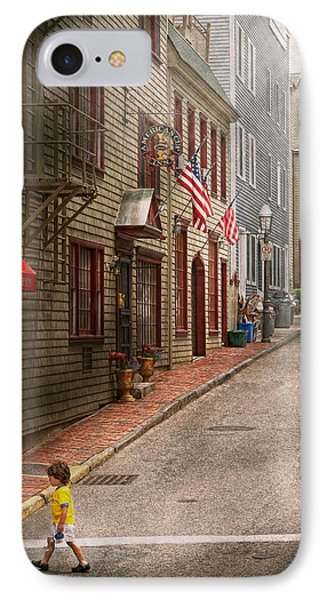 City - Rhode Island - Newport - Journey  Phone Case by Mike Savad