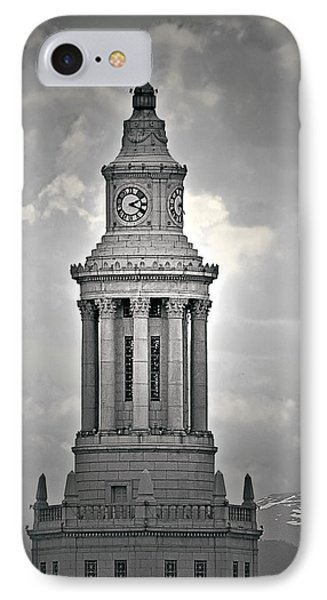 City And County Of Denver Building Phone Case by Christine Till