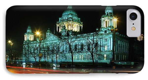 City Hall, Belfast, Ireland Phone Case by The Irish Image Collection