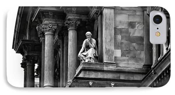 City Hall Edifice - Philadelphia Phone Case by Bill Cannon