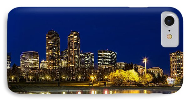 IPhone Case featuring the photograph City Night Lights by Ken Stanback