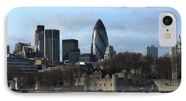 City Of London IPhone Case by Milena Boeva