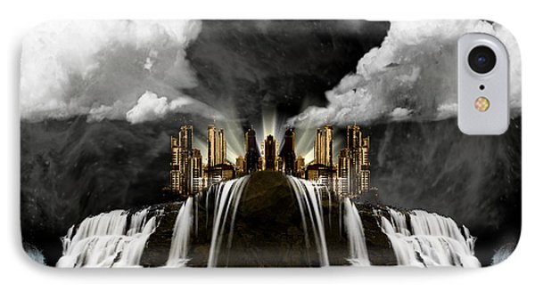 City On The Edge Of Forever IPhone Case