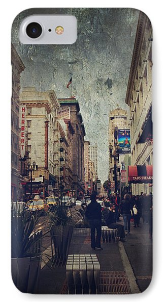 City Sidewalks Phone Case by Laurie Search