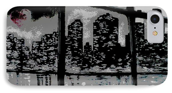 City View Phone Case by Carla Carson