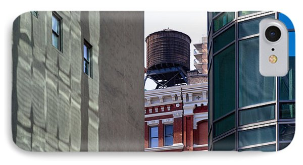 City Water Tower Phone Case by Inti St. Clair