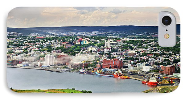 Cityscape Of Saint John's From Signal Hill IPhone Case by Elena Elisseeva