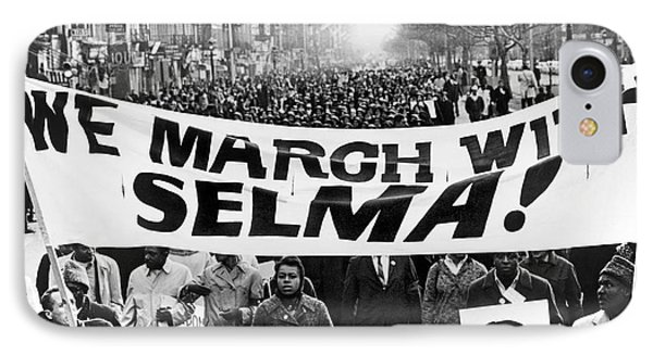 Civil Rights March, 1965 Phone Case by Granger