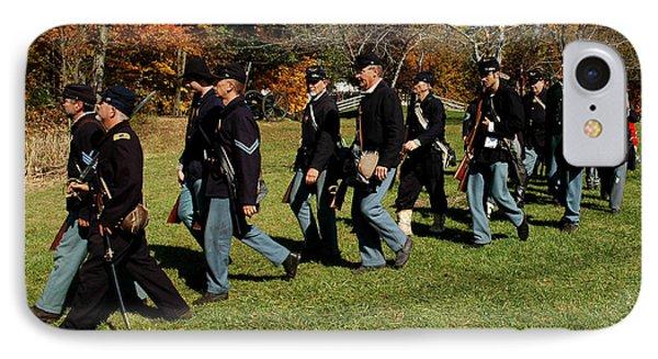 Civil Soldiers March Phone Case by LeeAnn McLaneGoetz McLaneGoetzStudioLLCcom