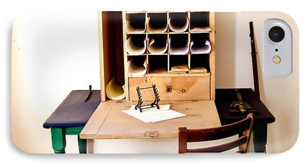 Civil War Desk Phone Case by Trish Tritz