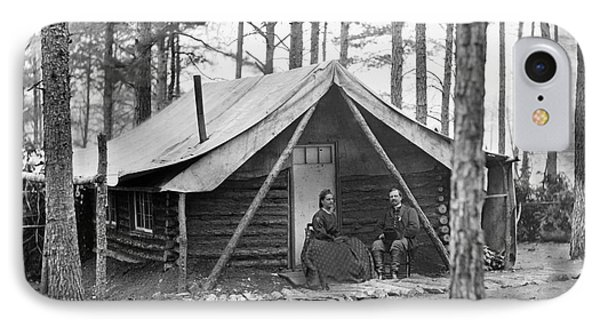 Civil War: Log Cabin, 1864 Phone Case by Granger