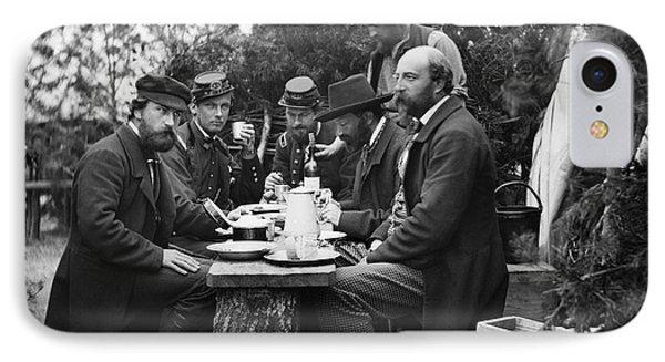 Civil War: Lunch, 1862 IPhone Case by Granger