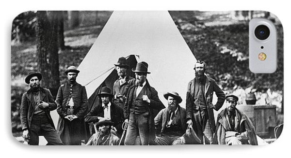 Civil War: Scouts, 1862 Phone Case by Granger