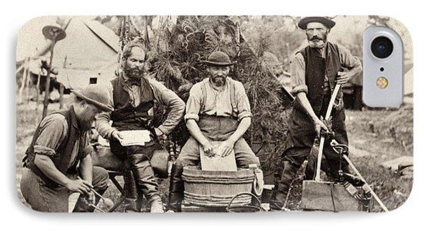 Civil War: Servants, 1862 IPhone Case by Granger