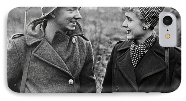 Clare Boothe Luce (1903-1987) Phone Case by Granger