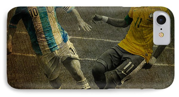 Clash Of The Titans II IPhone Case by Lee Dos Santos