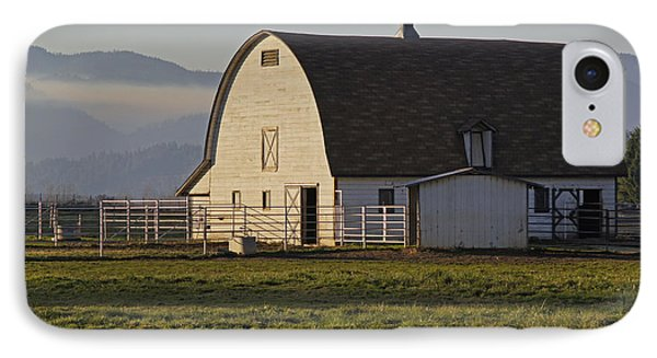 IPhone Case featuring the photograph Classic Barn Near Grants Pass by Mick Anderson