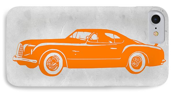 Classic Car 2 IPhone Case by Naxart Studio